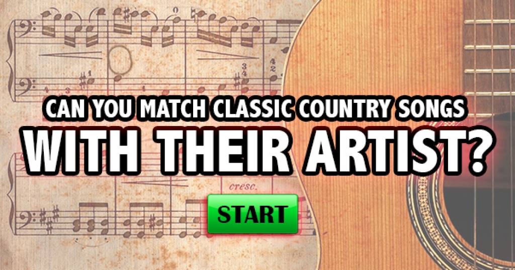 Can You Match Classic Country Songs With The Artist?