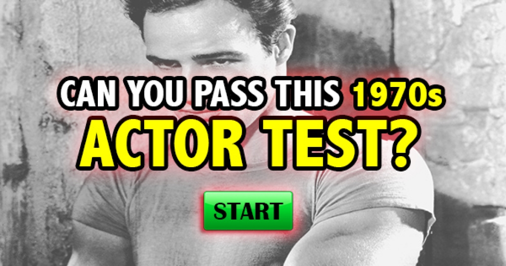 Can You Pass This 1970s Actor Test?