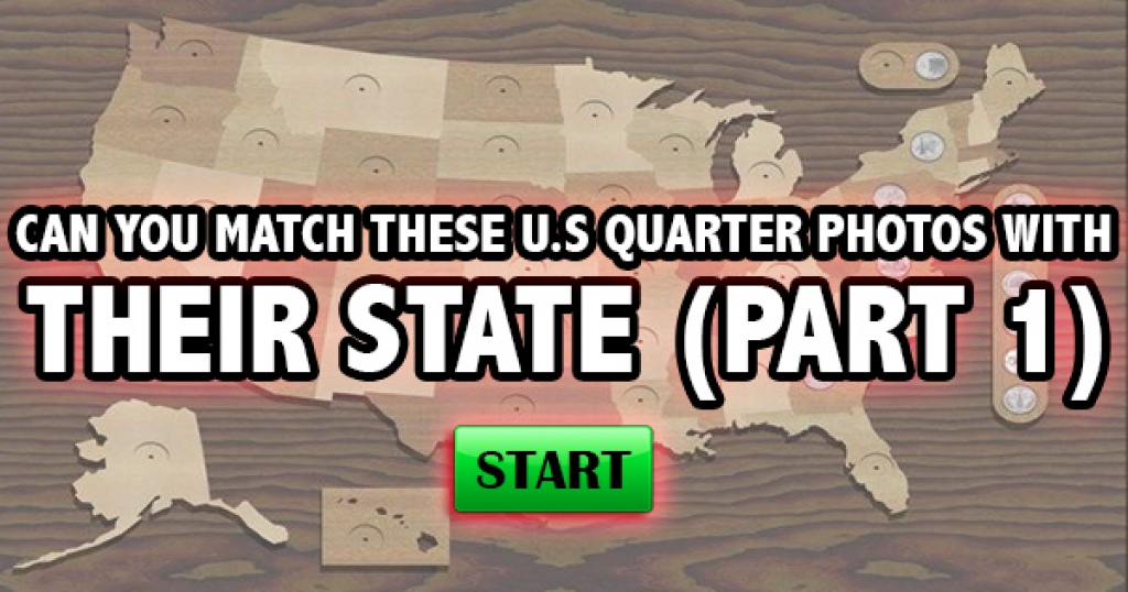 Can You Match These U.S. Quarter Photos With Their State (Part 1)