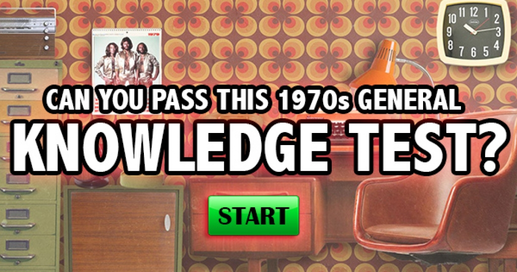 Can You Pass This 1970s General Knowledge Test?