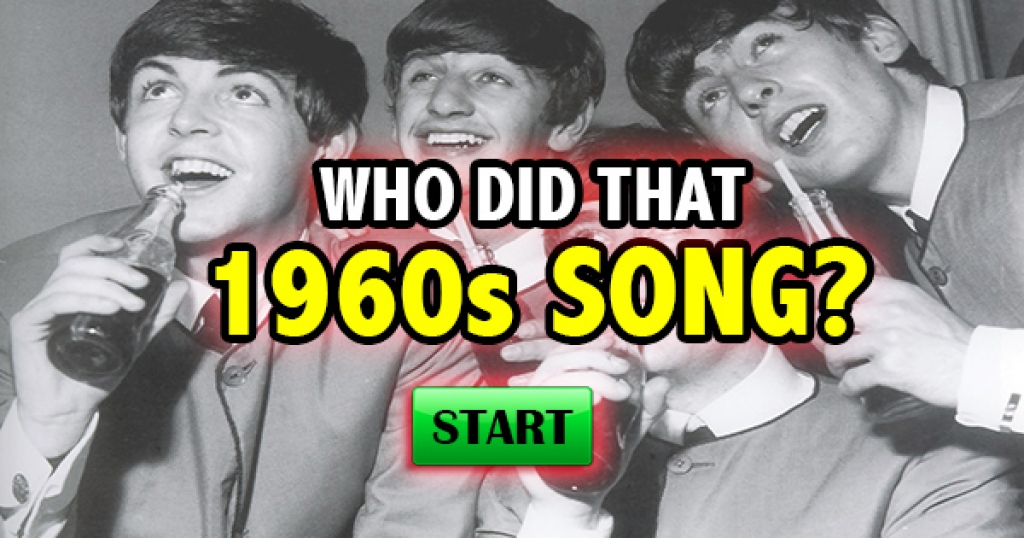 Who Did That 1960s Song?