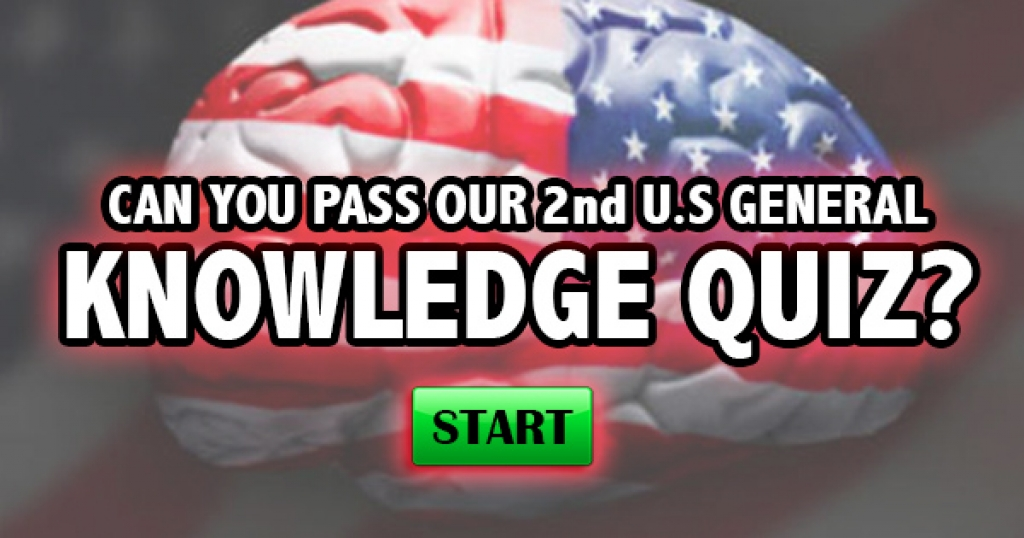 Can You Pass Our 2nd U.S. General Knowledge Quiz?