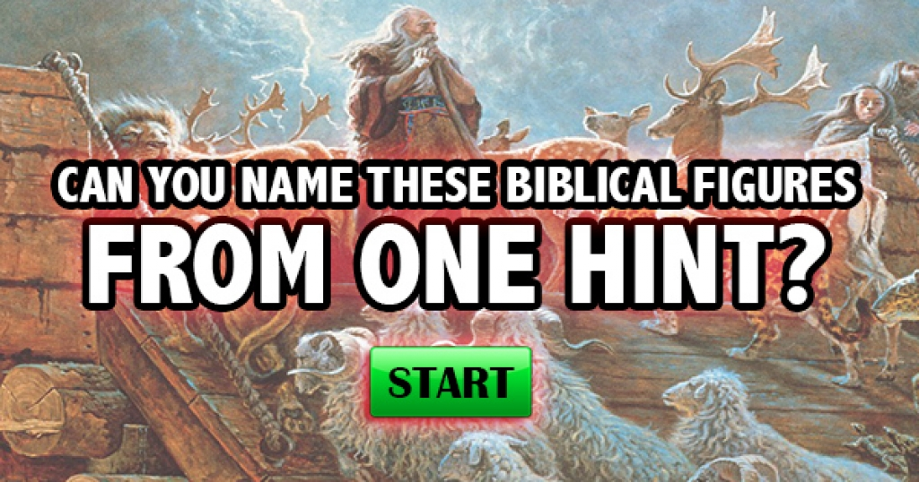 Can You Name These Biblical Figures From One Hint?