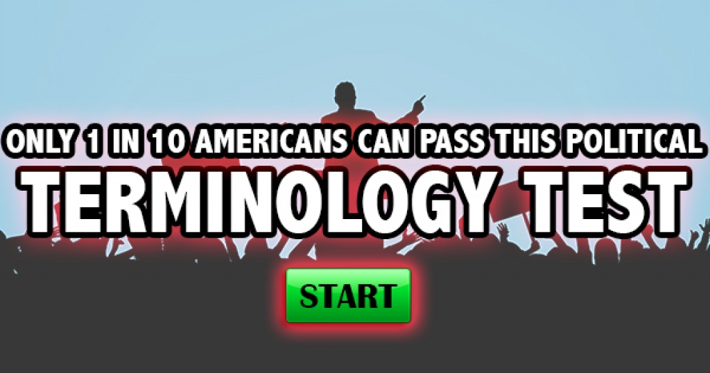 Only 1 in 10 Americans Can Pass This Political Terminology Test