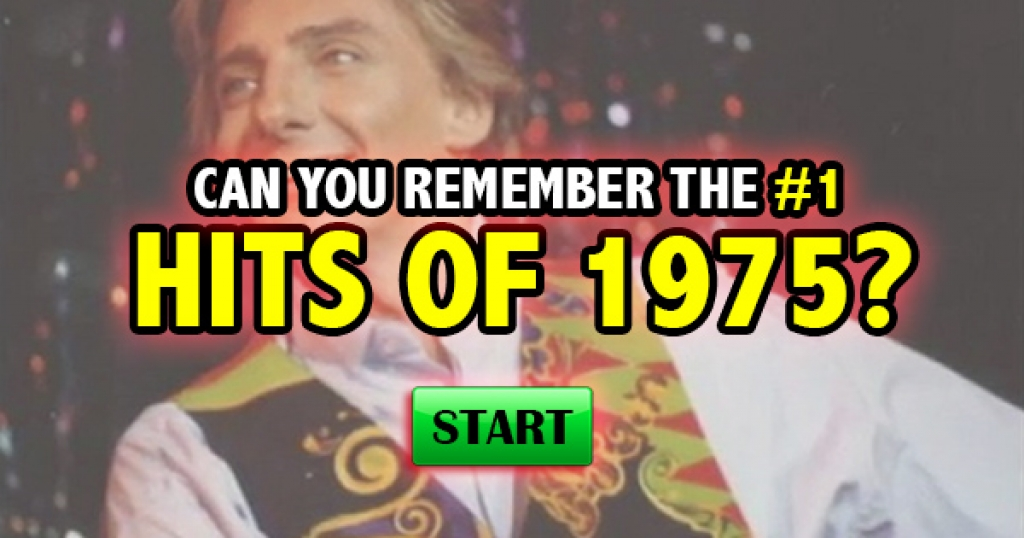 Can You Remember The #1 Hits of 1975?
