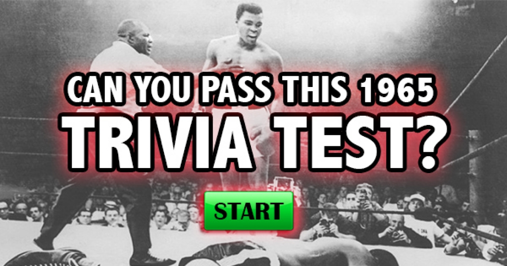 Can You Pass This 1965 Trivia Test?
