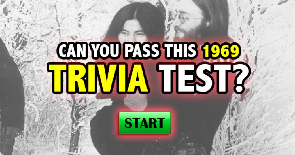 Can You Pass This 1969 Trivia Test?