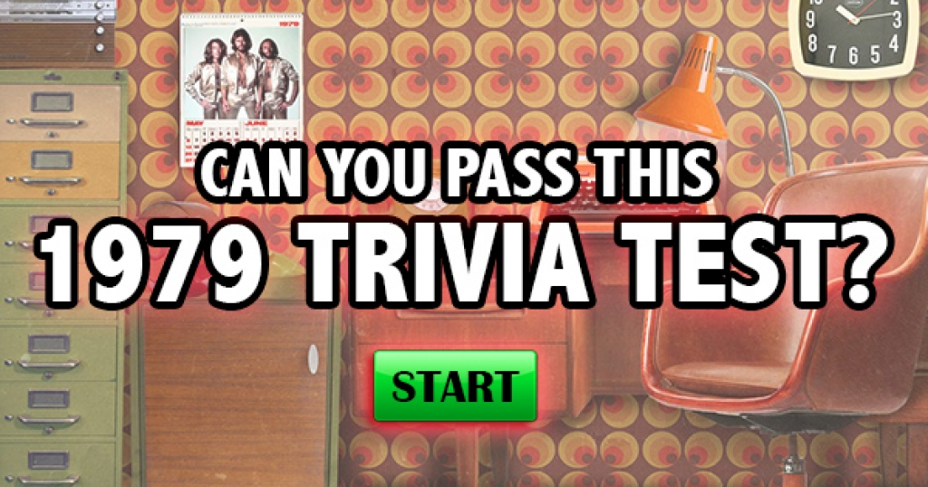 Can You Pass This 1979 Trivia Test?