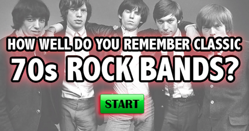 How Well Do You Remember Classic 70s Rock Bands?