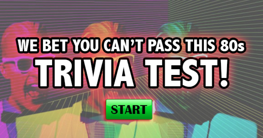 We Bet You Can't Pass This 80s Trivia Test!