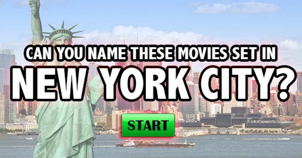 Can You Name These Movies Set In New York City?