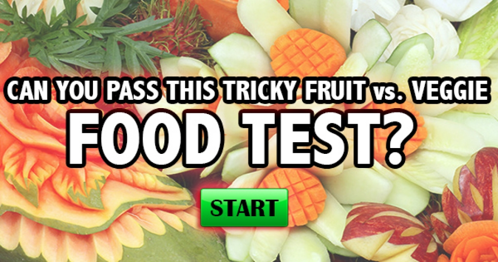 Can You Pass This Tricky Fruit Vs. Veggie Food Test?
