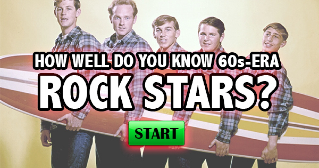How Well Do You Know 60s-Era Rock Stars?