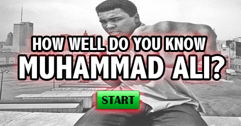 How Well Do You Know Muhammad Ali?