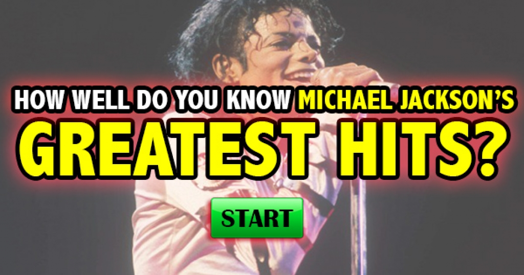 How Well Do You Know Michael Jackson's Greatest Hits?