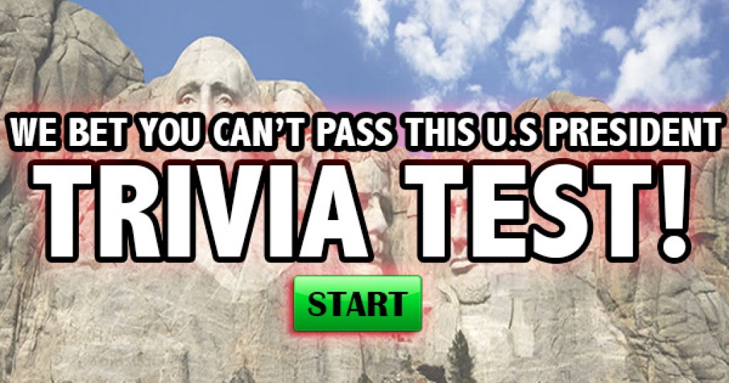 We Bet You Can't Pass This US President Trivia Test!
