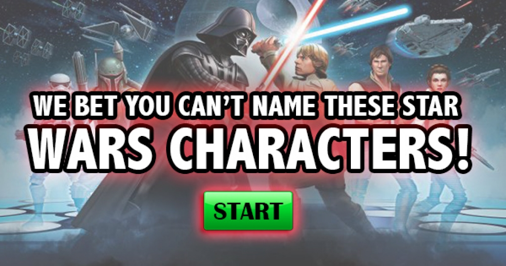 We Bet You Can't Name These Star Wars Characters!