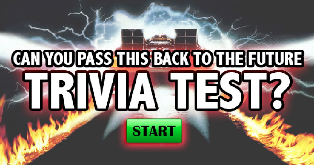 Can You Pass This Back to the Future Trivia Test?