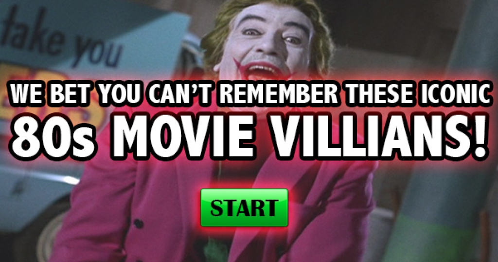We Bet You Can't Remember These Iconic 80s Movie Villains!